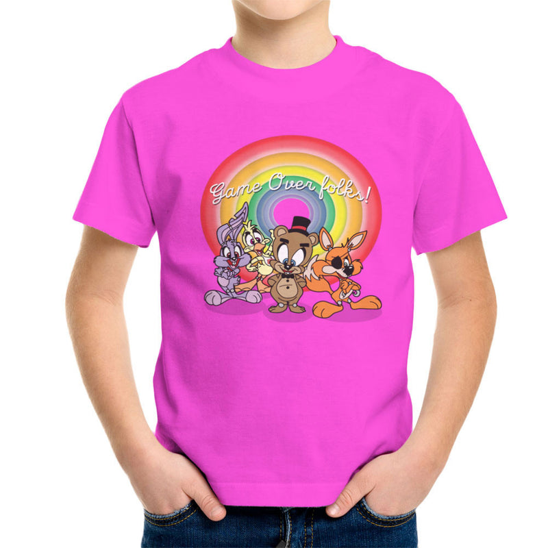 Tiny Toons Five Nights At Freddys Kid's T-Shirt by TopNotchy - Cloud City 7