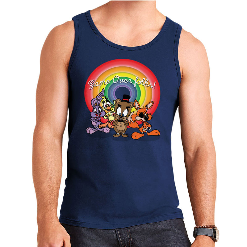 Tiny Toons Five Nights At Freddys Men's Vest by TopNotchy - Cloud City 7