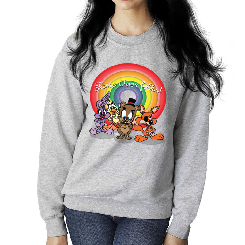 Tiny Toons Five Nights At Freddys Women's Sweatshirt by TopNotchy - Cloud City 7