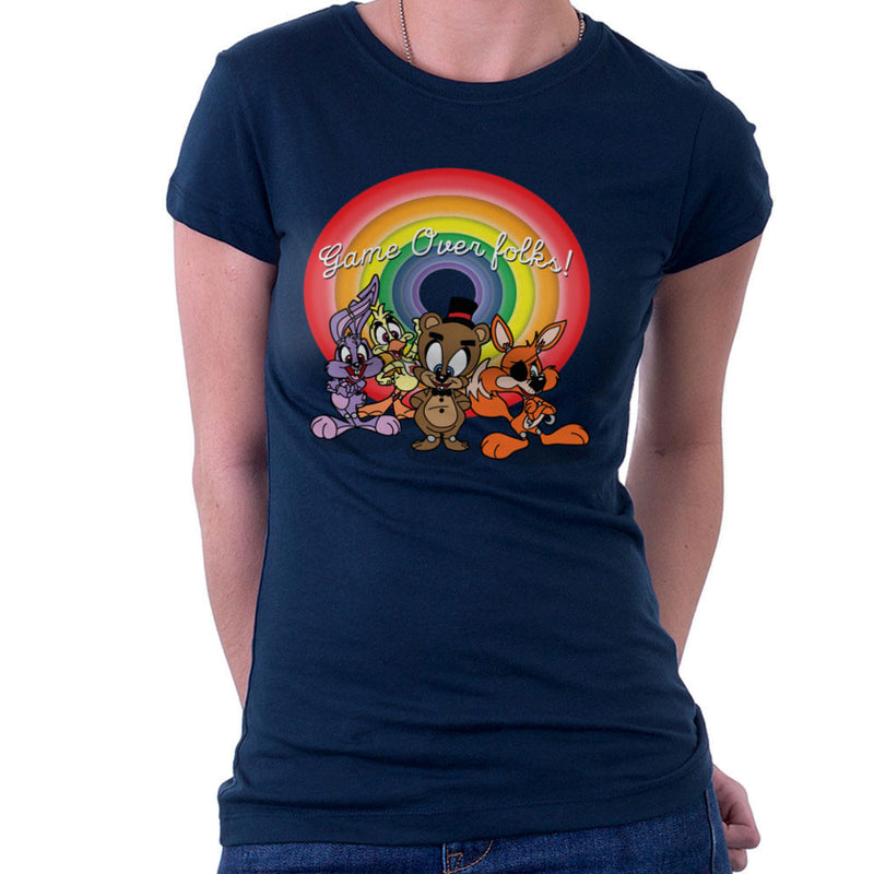 Tiny Toons Five Nights At Freddys Women's T-Shirt by TopNotchy - Cloud City 7