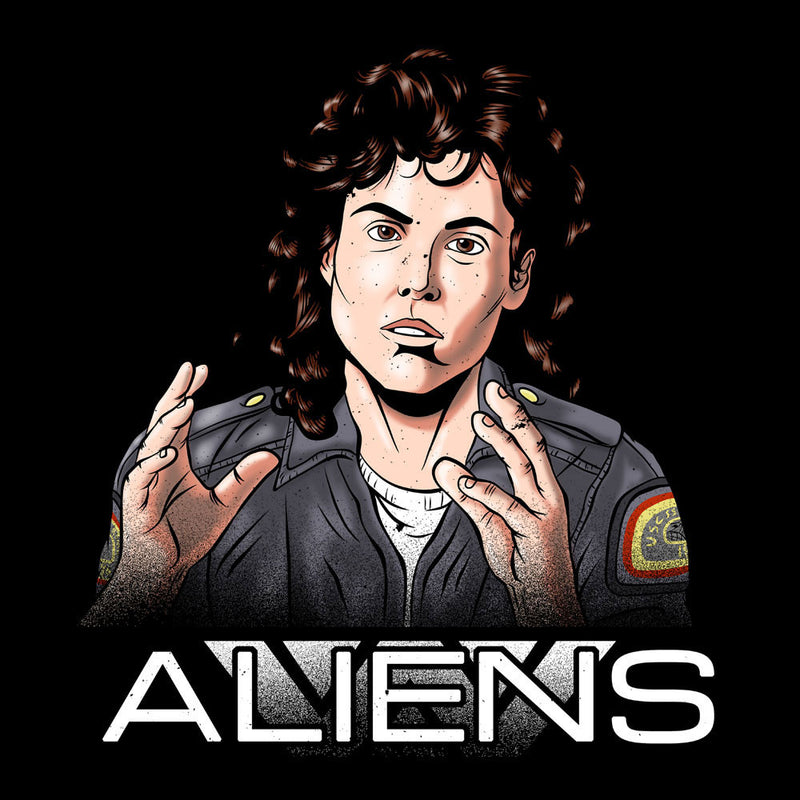 Alien Amanda Ripley Men's T-Shirt by Zombie Media - Cloud City 7