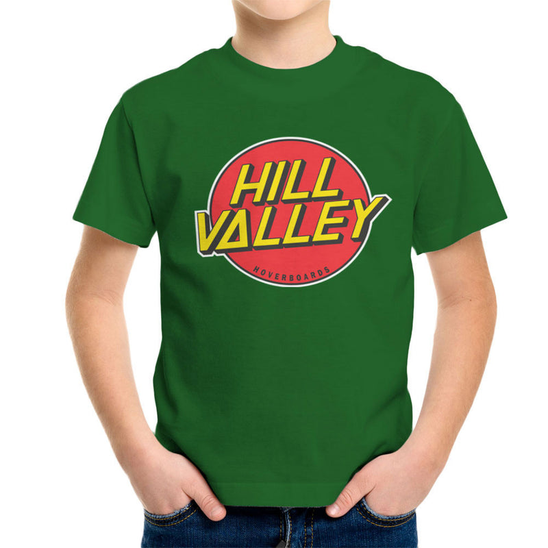 Hill Valley Hoverboards Back To The Future Kid's T-Shirt Kid's Boy's T-Shirt Cloud City 7 - 13