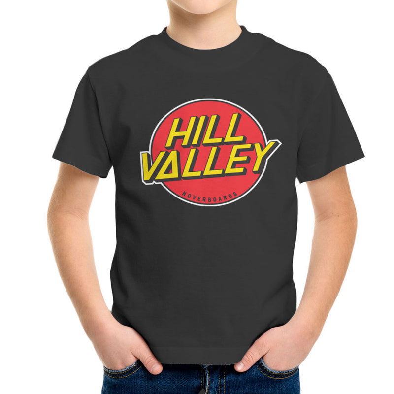 Hill Valley Hoverboards Back To The Future Kid's T-Shirt Kid's Boy's T-Shirt Cloud City 7 - 4