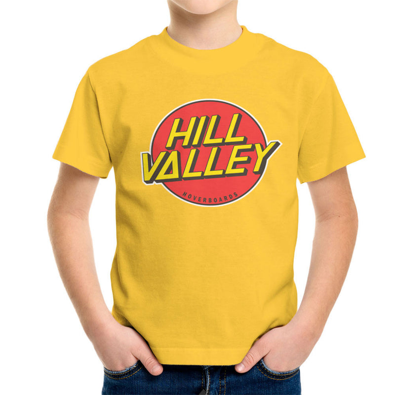 Hill Valley Hoverboards Back To The Future Kid's T-Shirt Kid's Boy's T-Shirt Cloud City 7 - 17