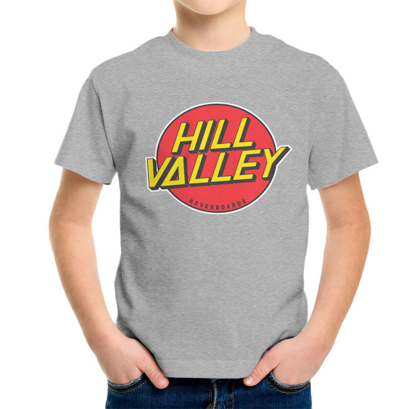 Hill Valley Hoverboards Back To The Future Kid's T-Shirt Kid's Boy's T-Shirt Cloud City 7 - 5