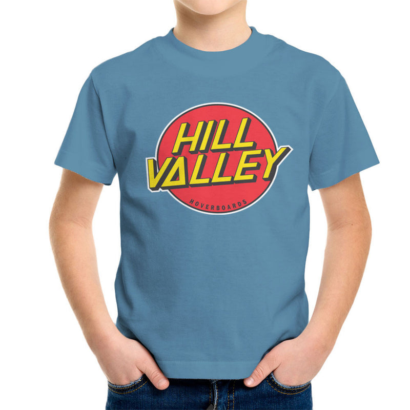 Hill Valley Hoverboards Back To The Future Kid's T-Shirt Kid's Boy's T-Shirt Cloud City 7 - 9