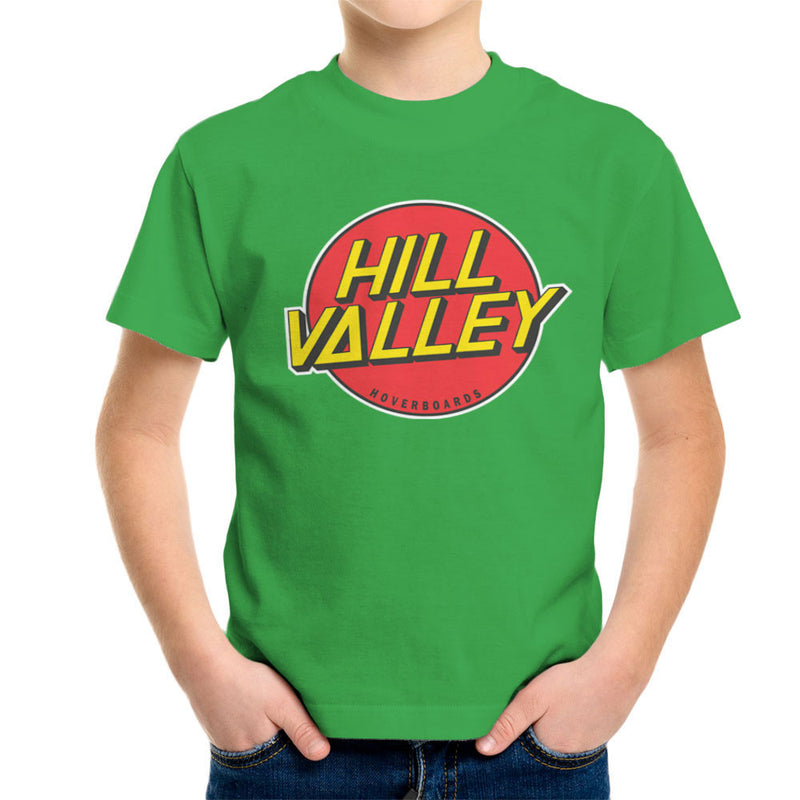 Hill Valley Hoverboards Back To The Future Kid's T-Shirt Kid's Boy's T-Shirt Cloud City 7 - 14