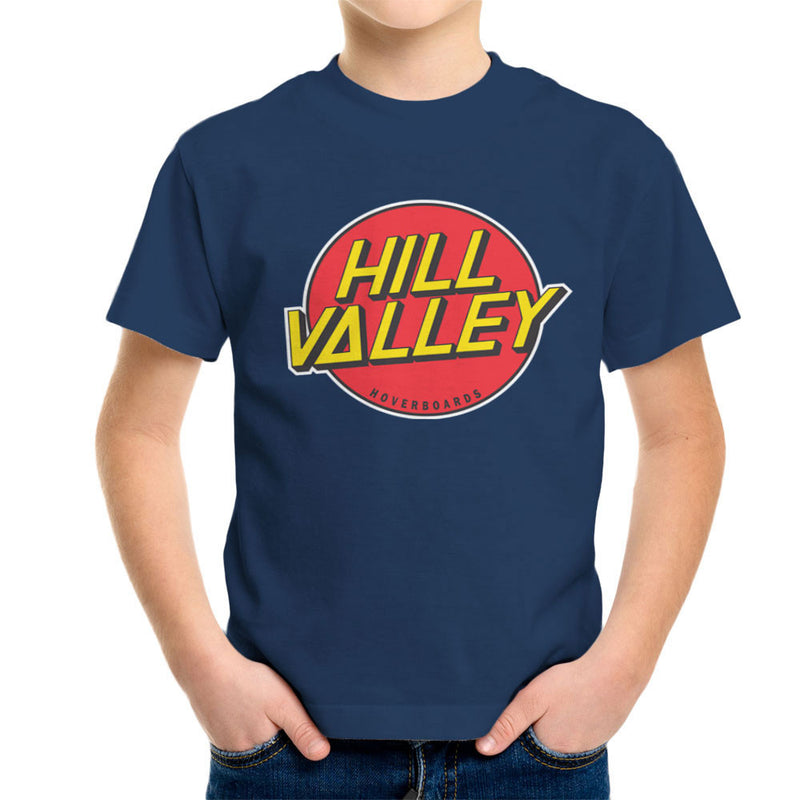 Hill Valley Hoverboards Back To The Future Kid's T-Shirt Kid's Boy's T-Shirt Cloud City 7 - 7
