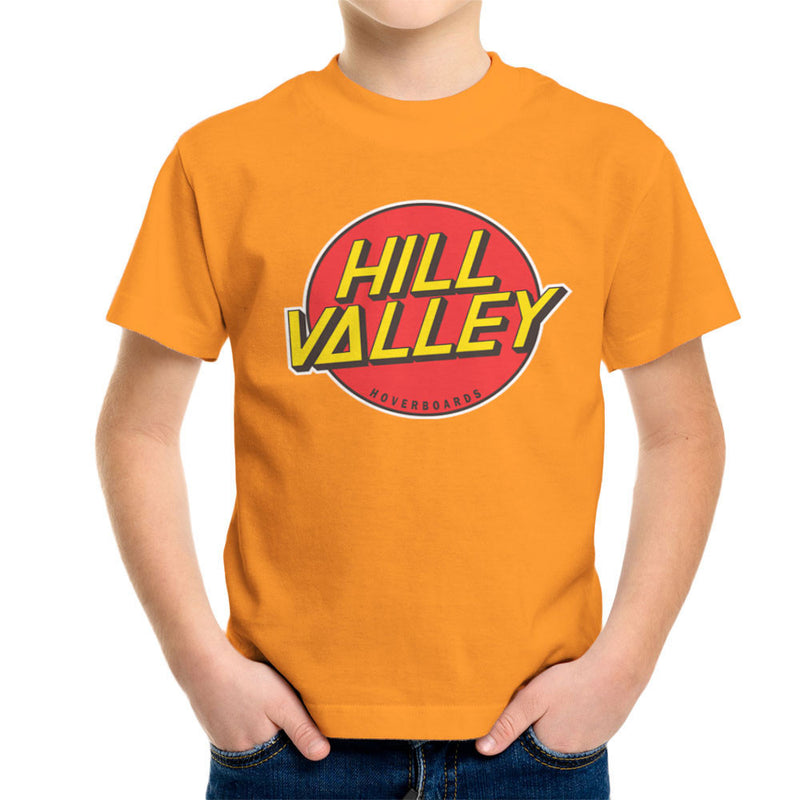 Hill Valley Hoverboards Back To The Future Kid's T-Shirt Kid's Boy's T-Shirt Cloud City 7 - 16