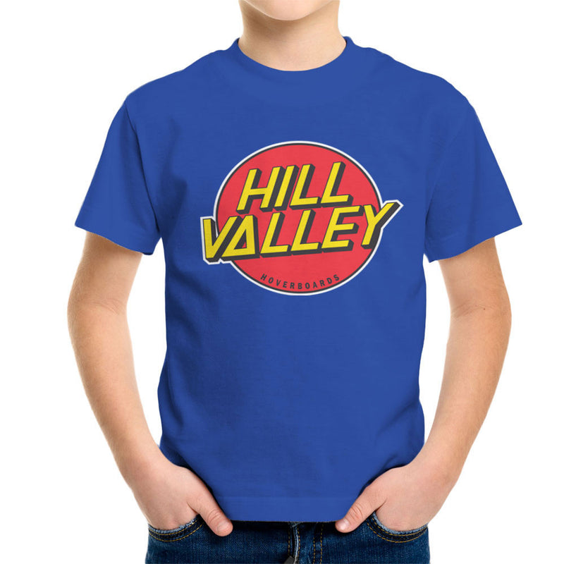 Hill Valley Hoverboards Back To The Future Kid's T-Shirt Kid's Boy's T-Shirt Cloud City 7 - 8