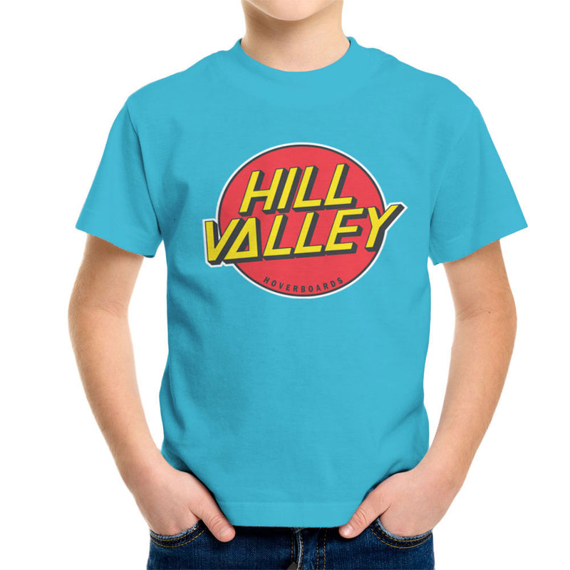 Hill Valley Hoverboards Back To The Future Kid's T-Shirt Kid's Boy's T-Shirt Cloud City 7 - 10