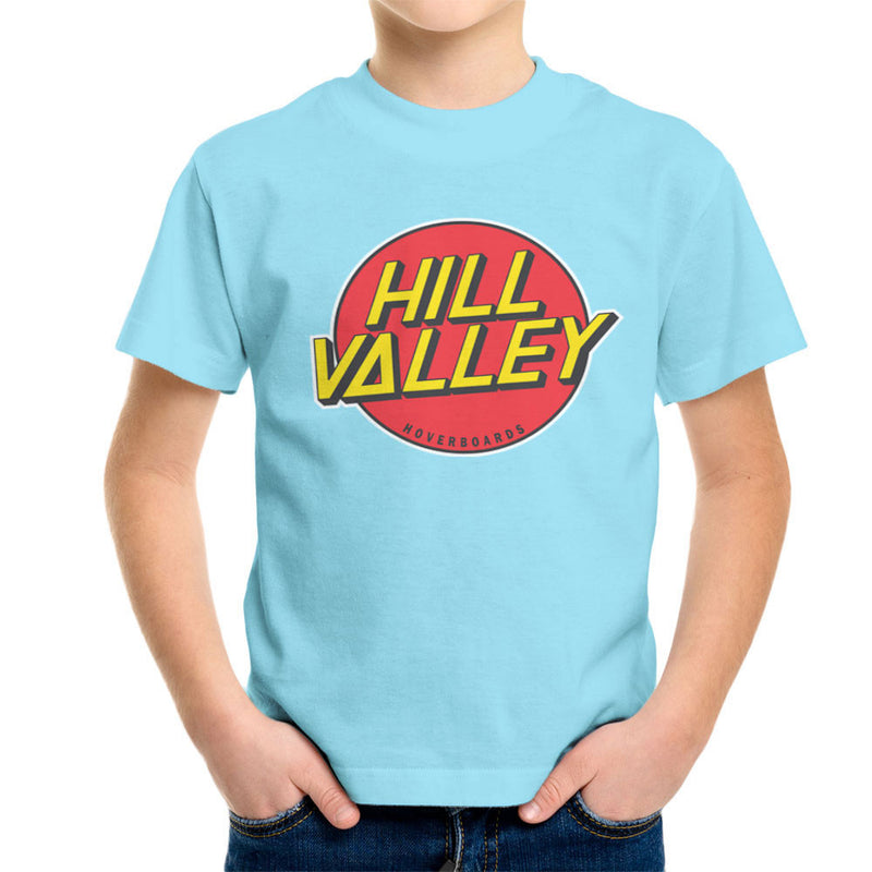 Hill Valley Hoverboards Back To The Future Kid's T-Shirt Kid's Boy's T-Shirt Cloud City 7 - 11