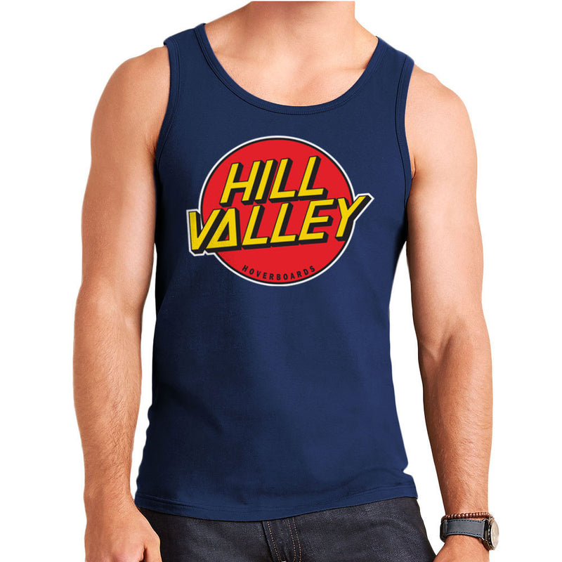 Hill Valley Hoverboards Back To The Future Men's Vest by Zombie Media - Cloud City 7