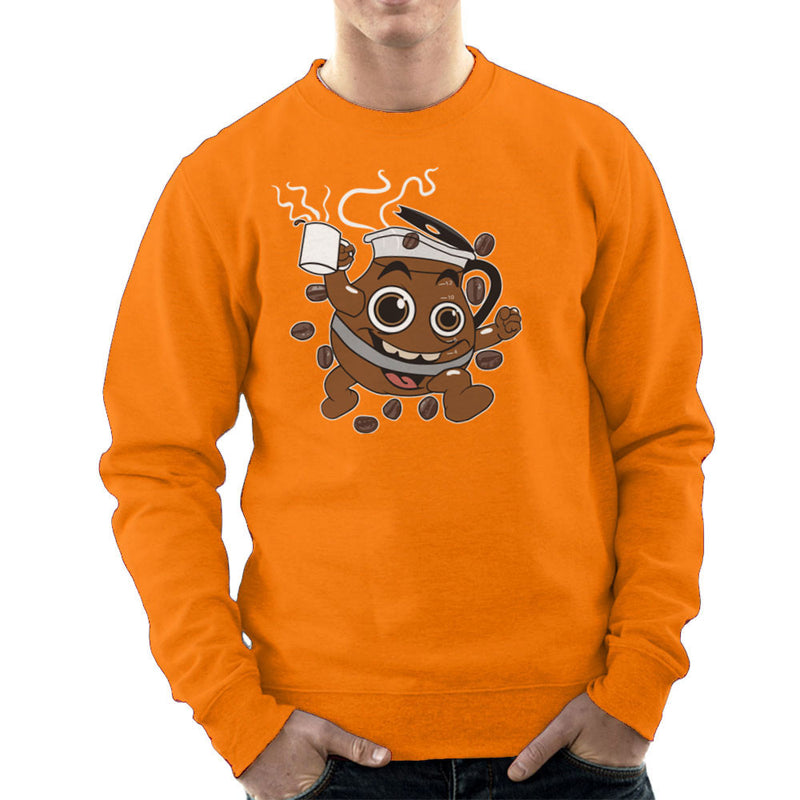 Coffee Oooooh Yeah Kool Aid Mash Up Men's Sweatshirt by Dansmash - Cloud City 7