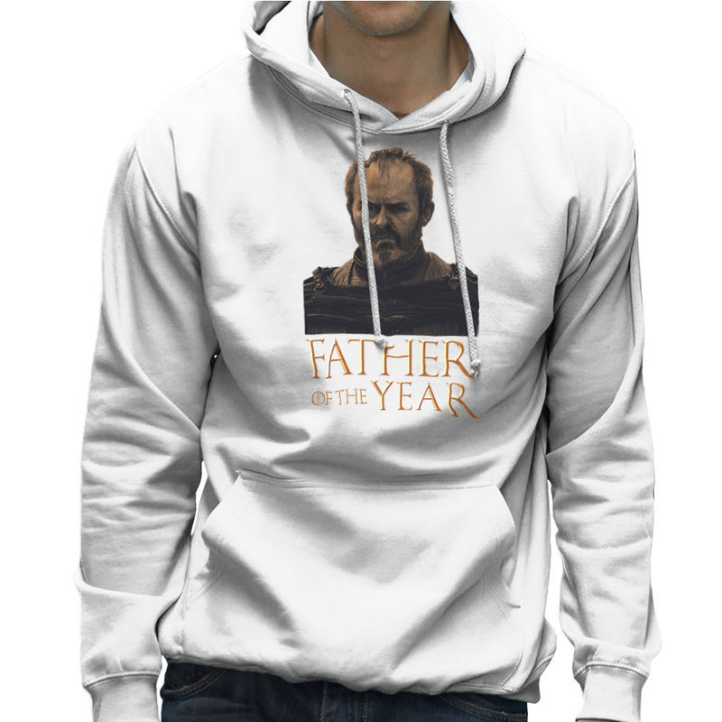 Fathers Day Collection Father Of The Year Stannis Baratheon Game Of Thrones Men's Hooded Sweatshirt by Pheasant Omelette - Cloud City 7