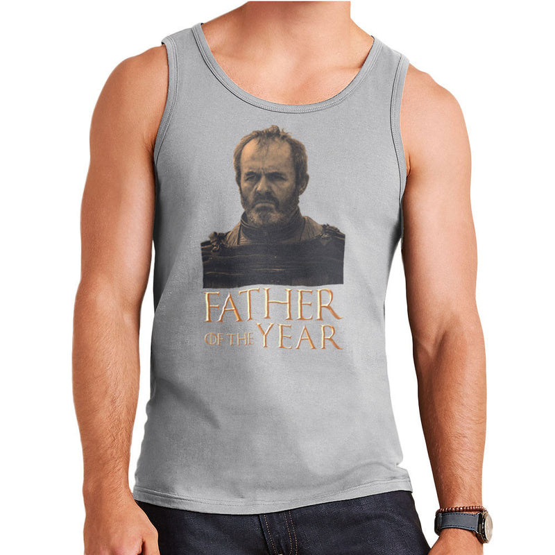 Fathers Day Collection Father Of The Year Stannis Baratheon Game Of Thrones Men's Vest by Pheasant Omelette - Cloud City 7
