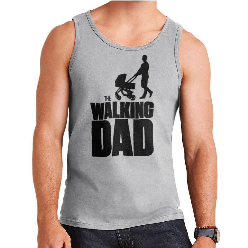 Fathers Day Collection The Walking Dad Men's Vest by Pheasant Omelette - Cloud City 7