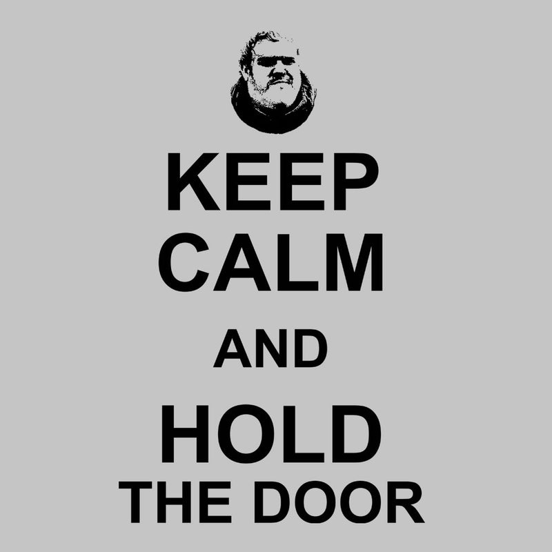 Hodor Keep Calm And Hold The Door Game Of Thrones Men's Vest by Nova5 - Cloud City 7