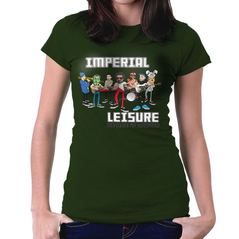 Imperial Leisure Women's T-Shirt by Toonpunk - Cloud City 7