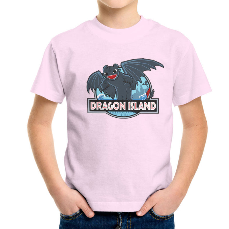 How to Train Your Dragon Island Jurassic Park Toothless Kid's T-Shirt by Kempo24 - Cloud City 7