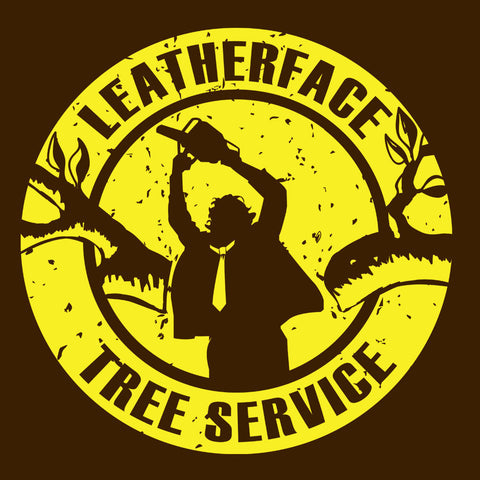 Leatherface Tree Service Texas Chainsaw Massacre