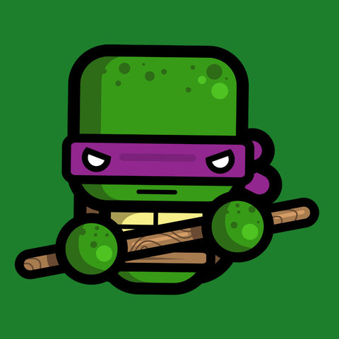 Simpler Donatello Teenage Mutant Ninja Turtles