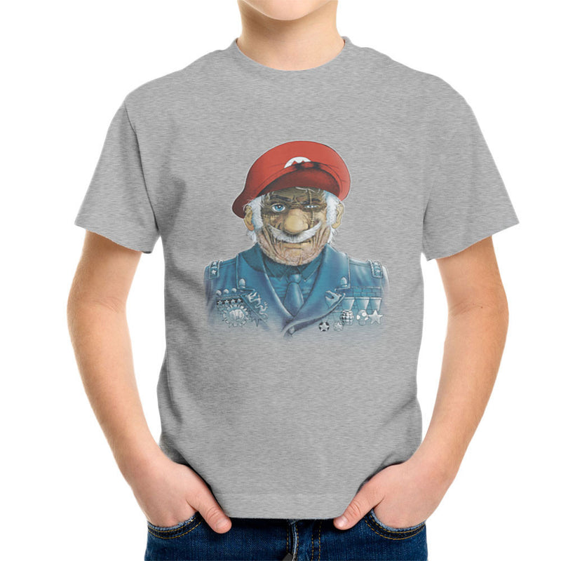 General Mario Nintendo Military Bros Kid's T-Shirt by RicoMambo - Cloud City 7