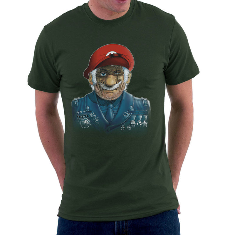 General Mario Nintendo Military Bros Men's T-Shirt by RicoMambo - Cloud City 7