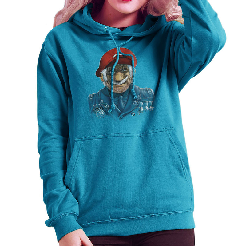 General Mario Nintendo Military Bros Women's Hooded Sweatshirt by RicoMambo - Cloud City 7