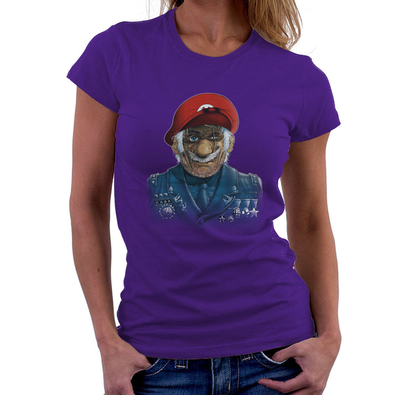 General Mario Nintendo Military Bros Women's T-Shirt by RicoMambo - Cloud City 7