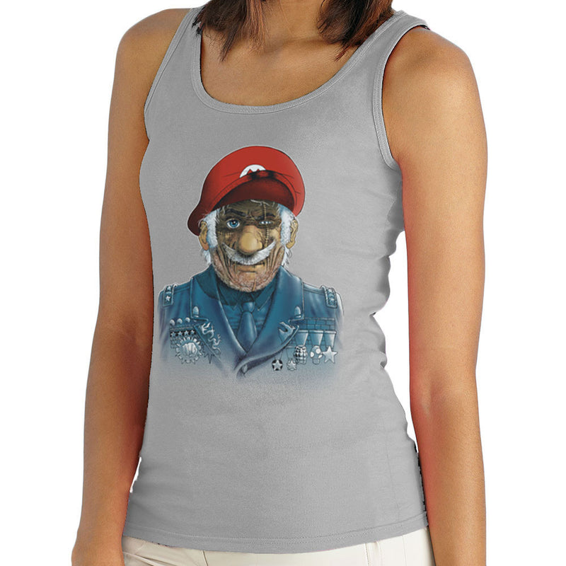 General Mario Nintendo Military Bros Women's Vest by RicoMambo - Cloud City 7