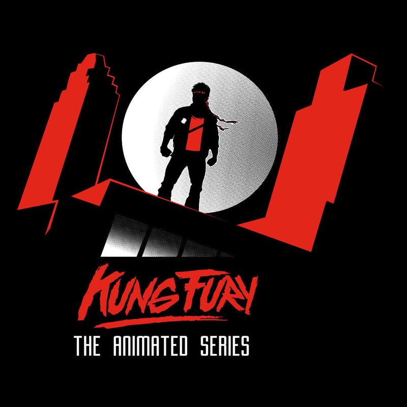 Kung Fury The Animated Series Kid's T-Shirt by AndreusD - Cloud City 7