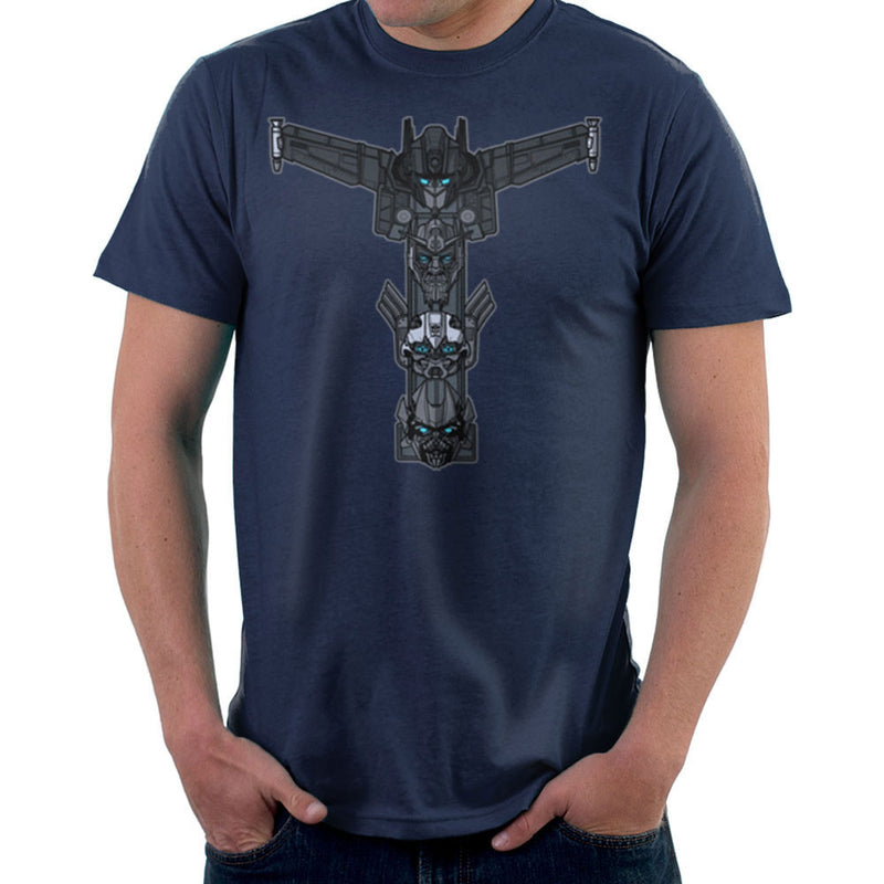 Autobot Totem Transformers Optimus Prime Bumblebee Ironhide Men's T-Shirt by AndreusD - Cloud City 7
