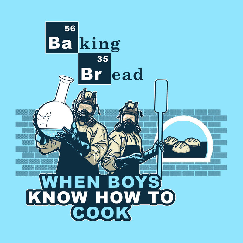 Baking Bread When Boys Know How to Cook Breaking Bad Men's Hooded Sweatshirt by AndreusD - Cloud City 7