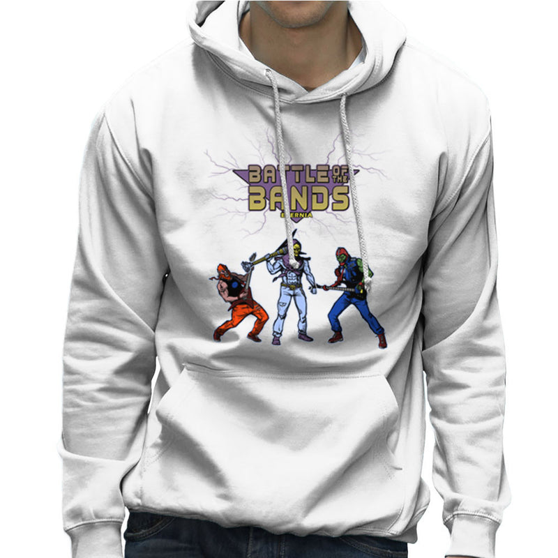 Battle Of The Bands Eternia Skeletor Men's Hooded Sweatshirt by AndreusD - Cloud City 7