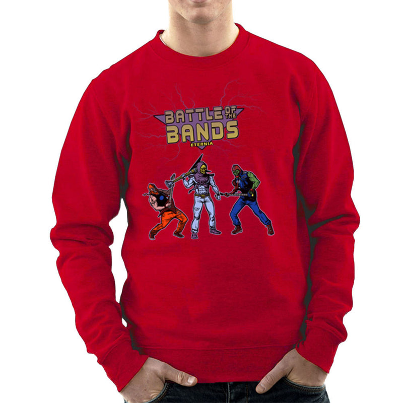Battle Of The Bands Eternia Skeletor Men's Sweatshirt by AndreusD - Cloud City 7