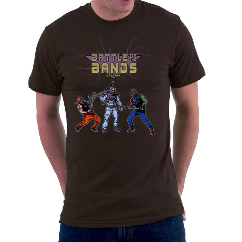 Battle Of The Bands Eternia Skeletor Men's T-Shirt by AndreusD - Cloud City 7