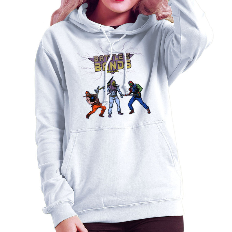 Battle Of The Bands Eternia Skeletor Women's Hooded Sweatshirt by AndreusD - Cloud City 7