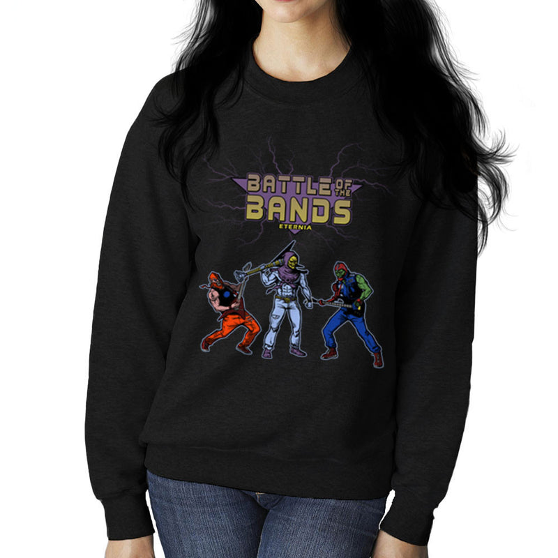 Battle Of The Bands Eternia Skeletor Women's Sweatshirt by AndreusD - Cloud City 7