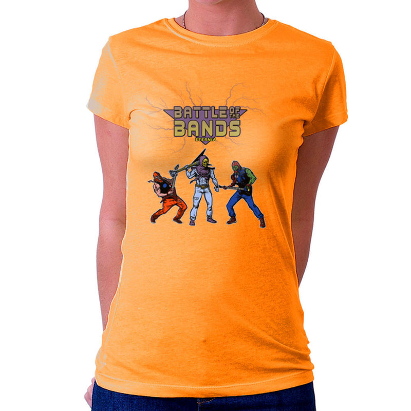 Battle Of The Bands Eternia Skeletor Women's T-Shirt by AndreusD - Cloud City 7