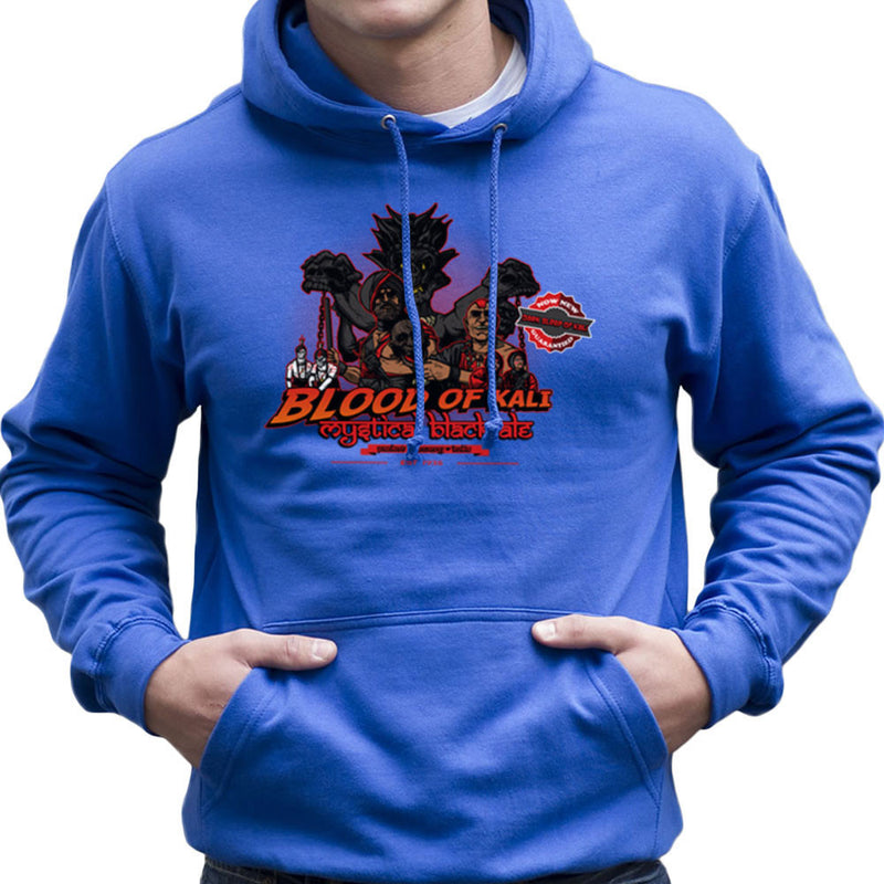 Indiana Jones Blood Of Kali Mystical Black Ale Temple Of Doom Men's Hooded Sweatshirt by AndreusD - Cloud City 7