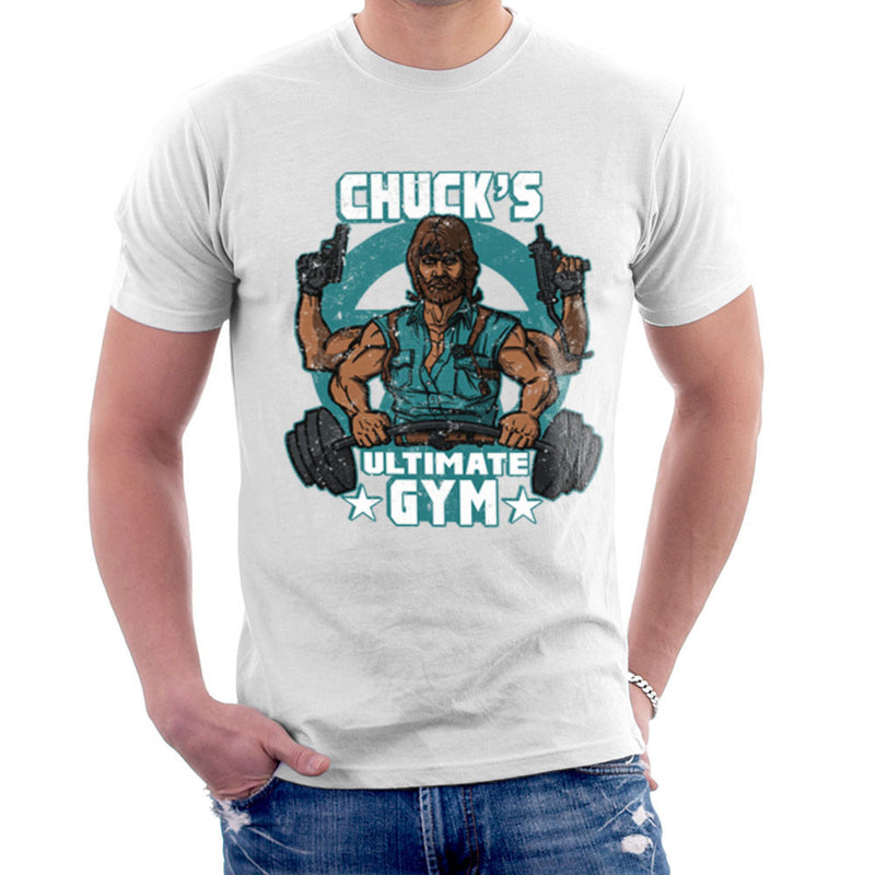 Chucks Ultimate Gym Chuck Norris Men's T-Shirt by AndreusD - Cloud City 7