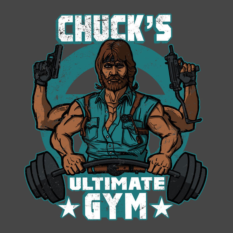 Chucks Ultimate Gym Chuck Norris Women's Vest by AndreusD - Cloud City 7