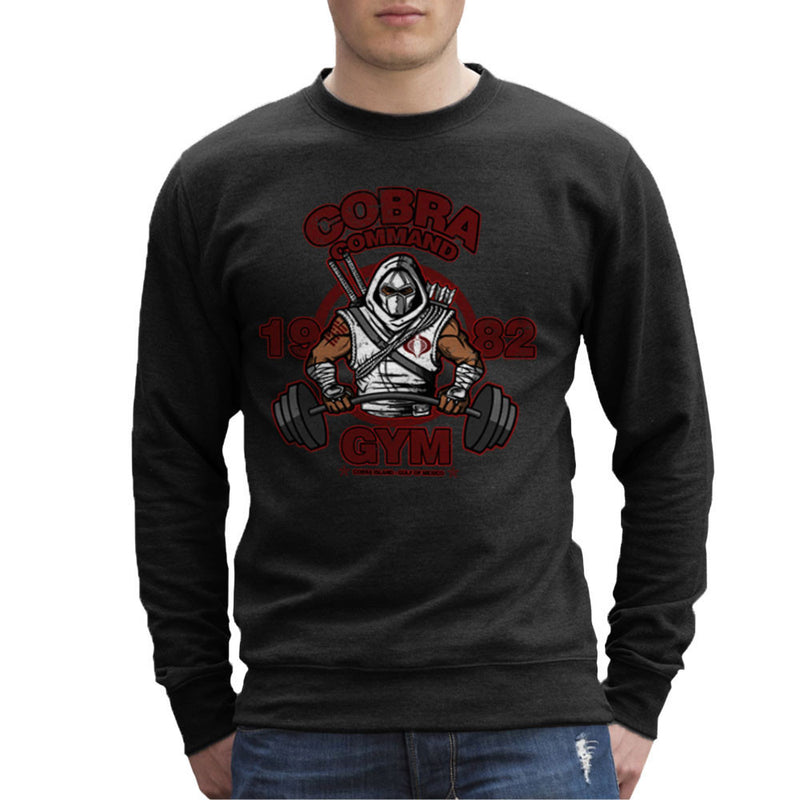 Cobra Command Gym GI Joe Storm Shadow Men's Sweatshirt by AndreusD - Cloud City 7