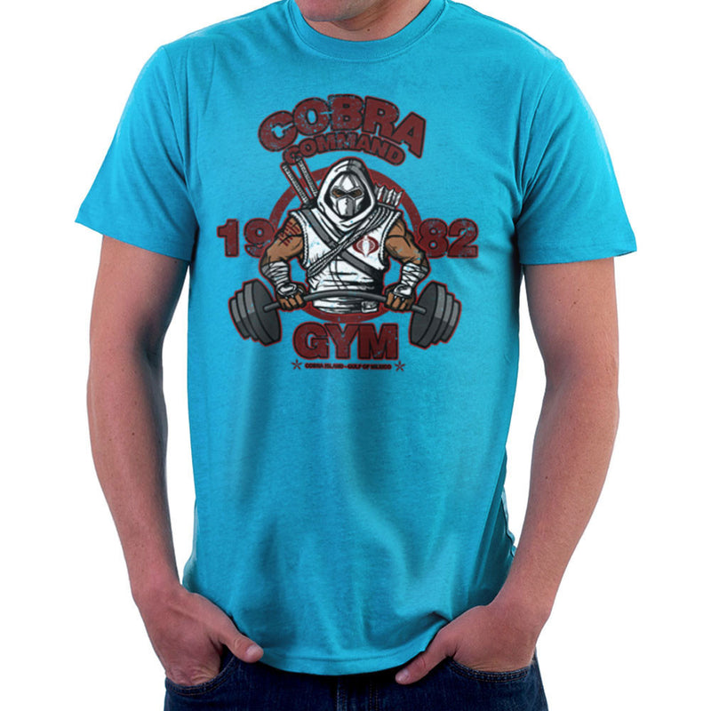 Cobra Command Gym GI Joe Storm Shadow Men's T-Shirt by AndreusD - Cloud City 7
