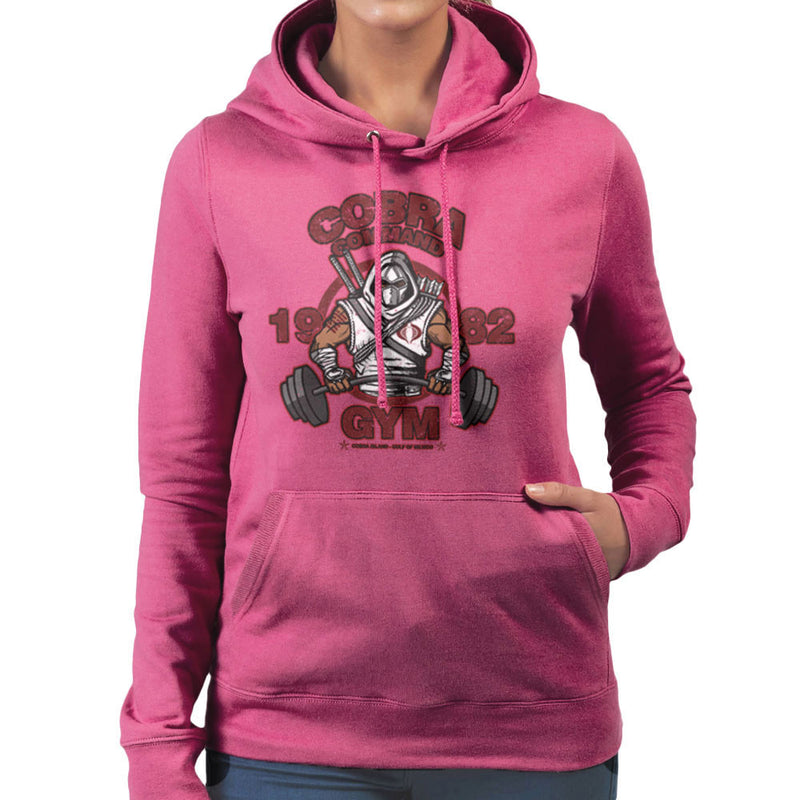 Cobra Command Gym GI Joe Storm Shadow Women's Hooded Sweatshirt by AndreusD - Cloud City 7