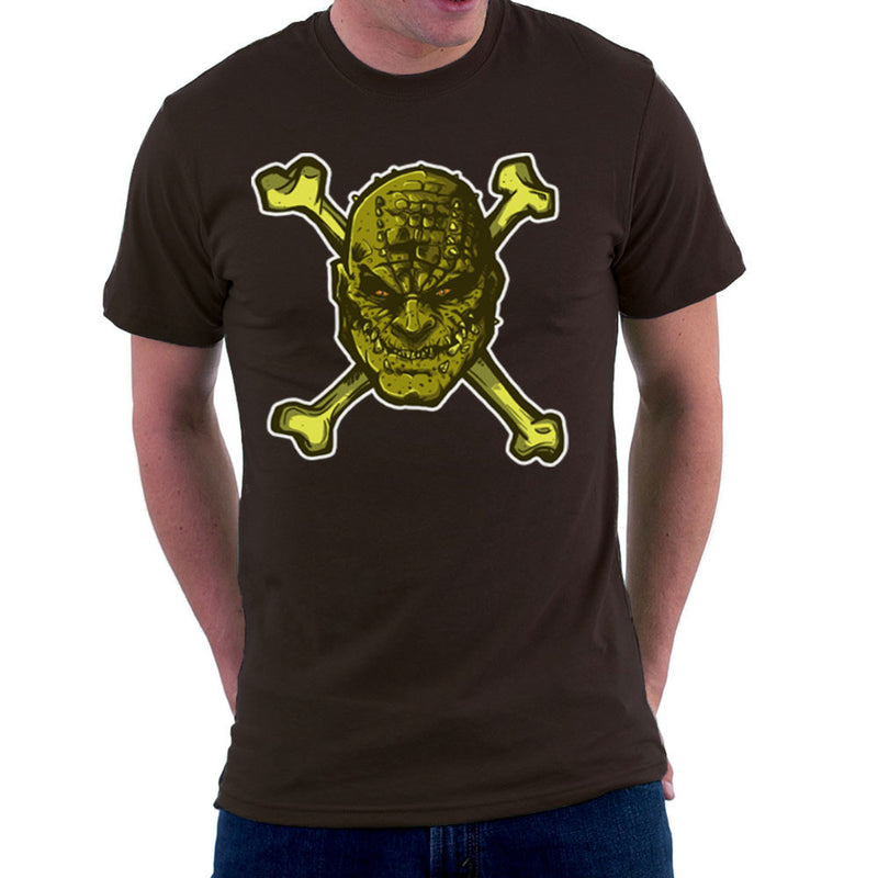 Croc Bones Supervillain Men's T-Shirt by AndreusD - Cloud City 7