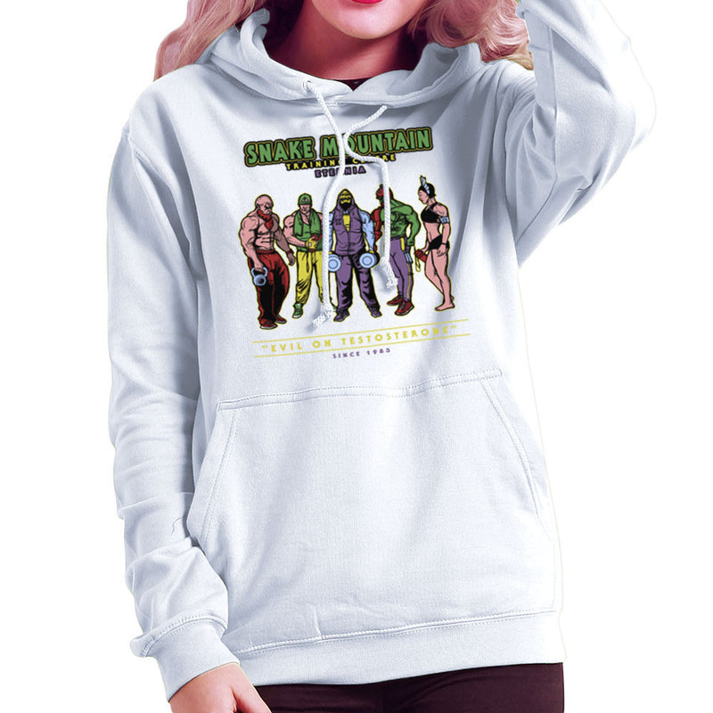 Snake Mountain Training Centre Eternia Skeletor Women's Hooded Sweatshirt by AndreusD - Cloud City 7