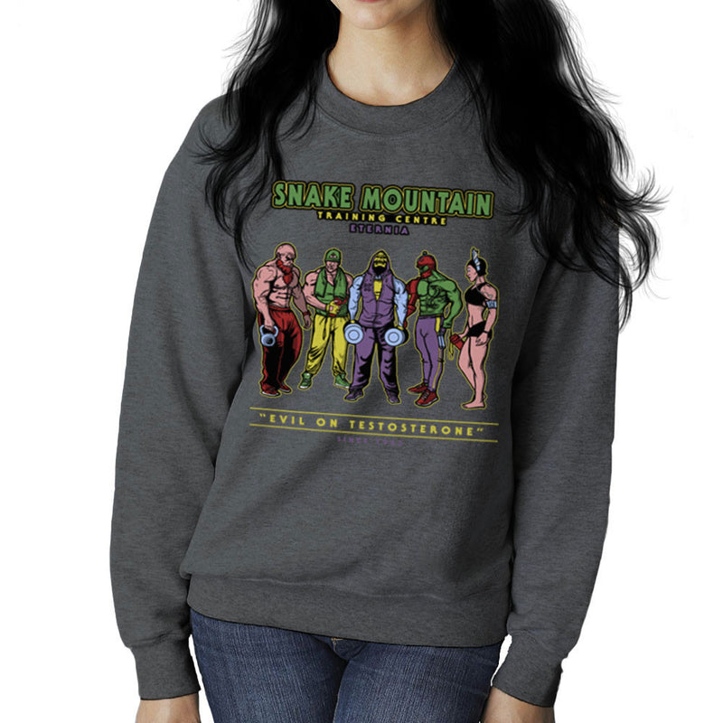 Snake Mountain Training Centre Eternia Skeletor Women's Sweatshirt by AndreusD - Cloud City 7