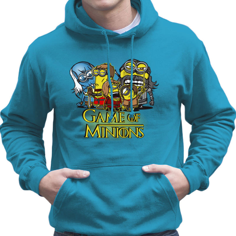 Game Of Thrones Minions Men's Hooded Sweatshirt by AndreusD - Cloud City 7